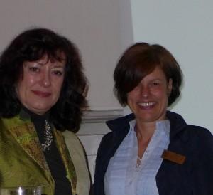 Frau Dr. C.Brenner mit Stefanie Wahle-Holoch