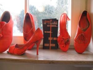 Schuhe a.d.Fensterbank